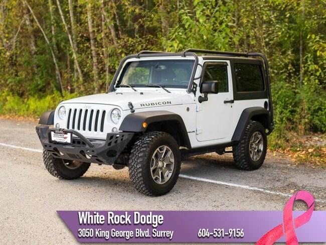 2016 Jeep Wrangler Rubicon - Cruise Control -  Removable Top SUV