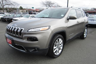 Used 2017 Jeep Cherokee Limited Dealer in Victoria BC - inventory