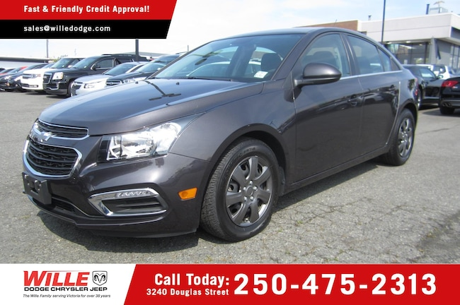 For Sale in Victoria: Pre-Owned 2016 Chevrolet Cruze Limited LT 1LT Used