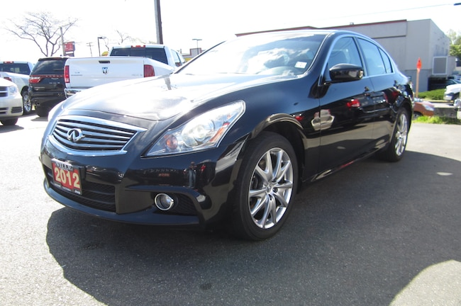 For Sale in Victoria: Pre-Owned 2012 INFINITI G37x Used
