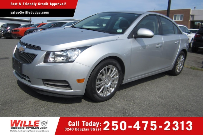 For Sale in Victoria: Pre-Owned 2012 Chevrolet Cruze ECO Used