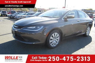 Used 2015 Chrysler 200 LX Dealer in Victoria BC - inventory