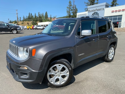 2016 Jeep Renegade Limited | 4X4 | My Sky Roof | SUV