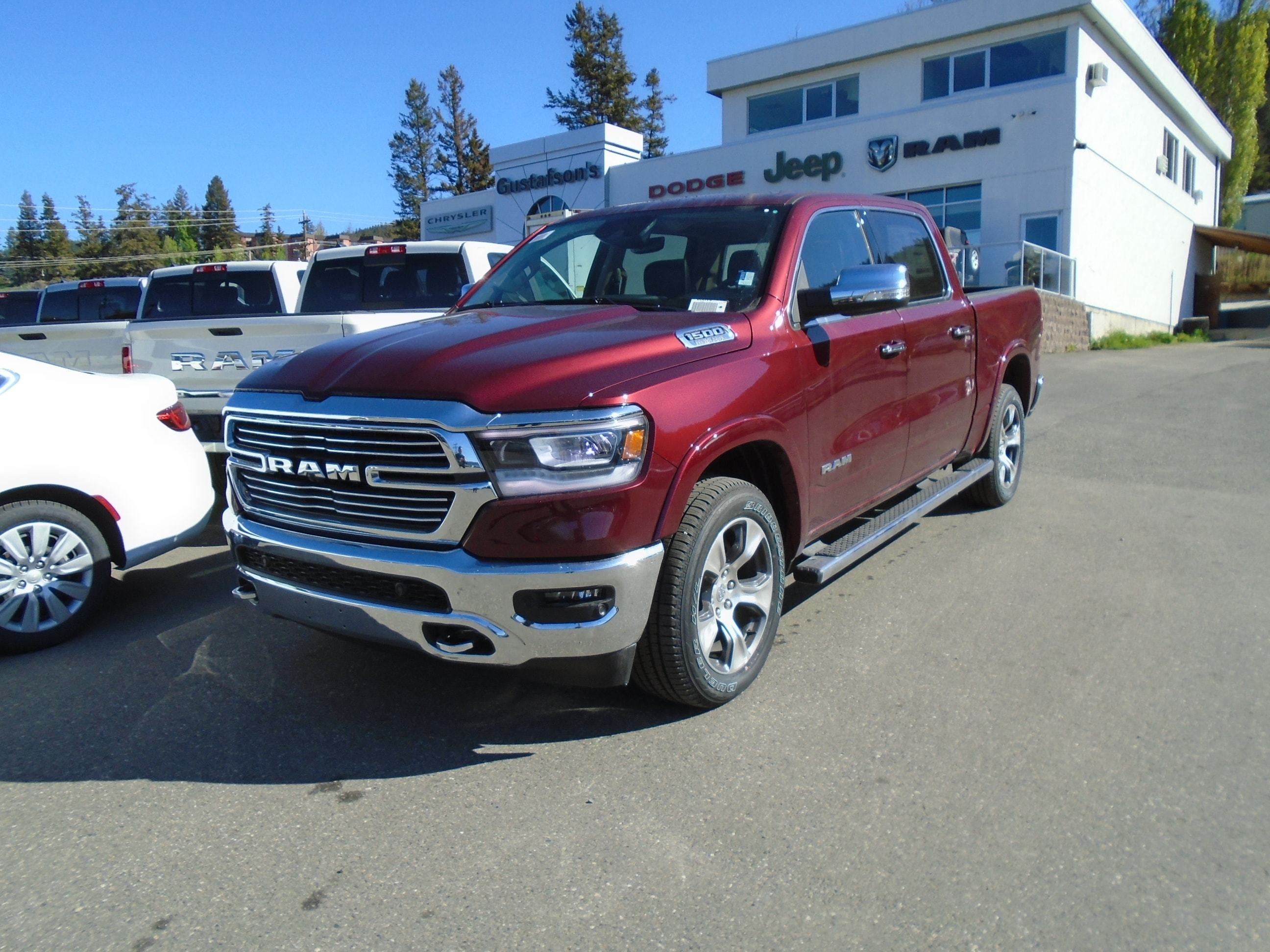 2019 Ram All-New 1500 Laramie DEMO Truck Crew Cab