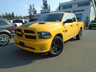 2019 Ram 1500 Classic Express Stinger Yellow Truck Crew Cab 1C6RR7KT2KS651125