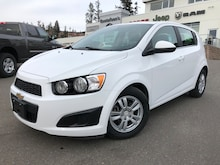 2016 Chevrolet Sonic LT 6 Speed Automatic Hatchback