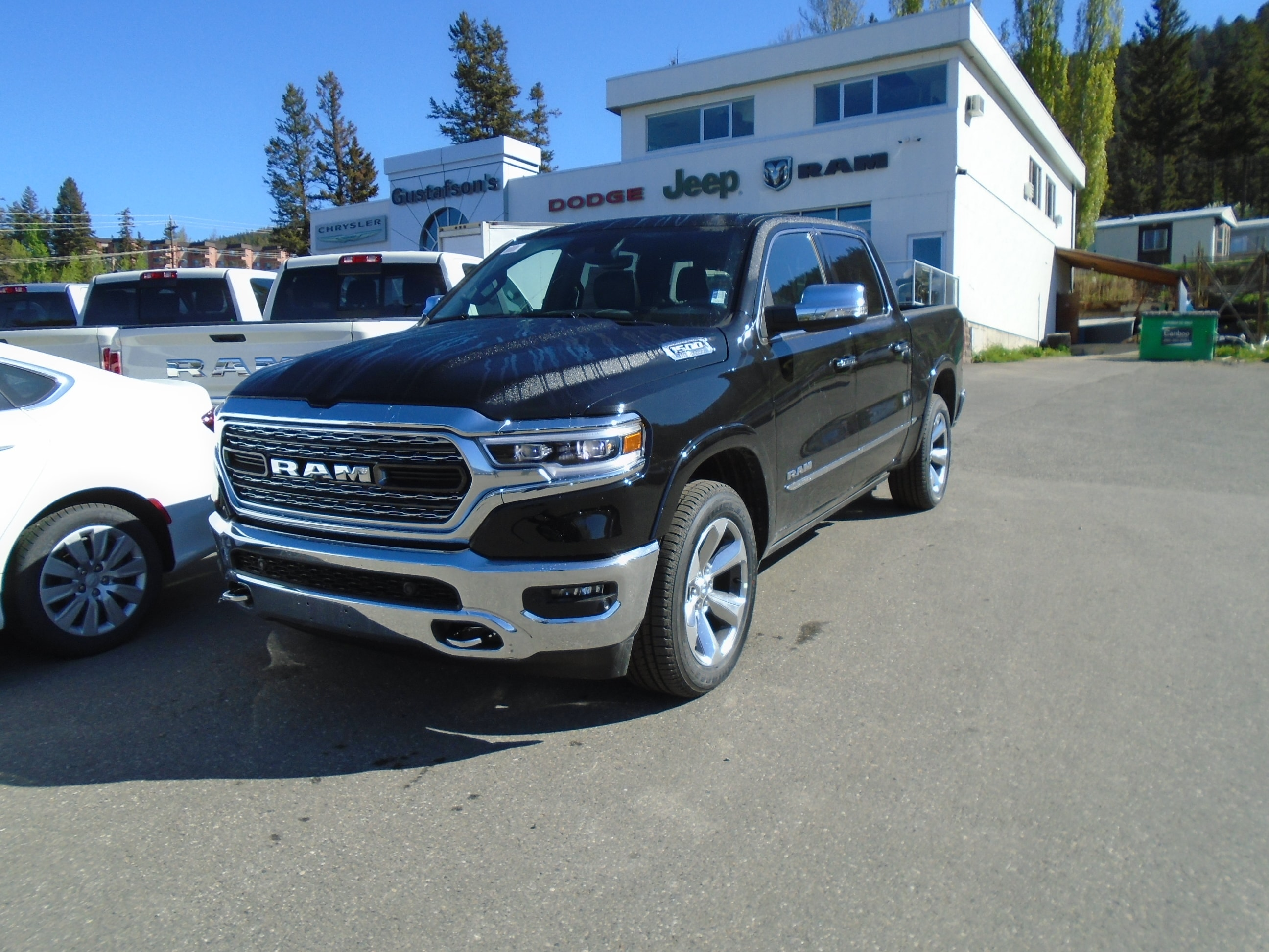 2019 Ram All-New 1500 Limited DEMO Truck Crew Cab