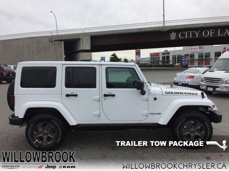 2018 Jeep Wrangler Unlimited   Max Tow Package SUV