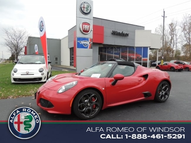 2017 Alfa Romeo 4C Spider Coupe Convertible