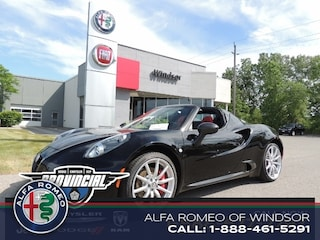 2016 Alfa Romeo 4C Pre-owned Best Buy Deal Alfa Romeo Windsor Convertible