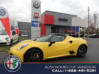 2018 Alfa Romeo 4C Spider Coupe Convertible