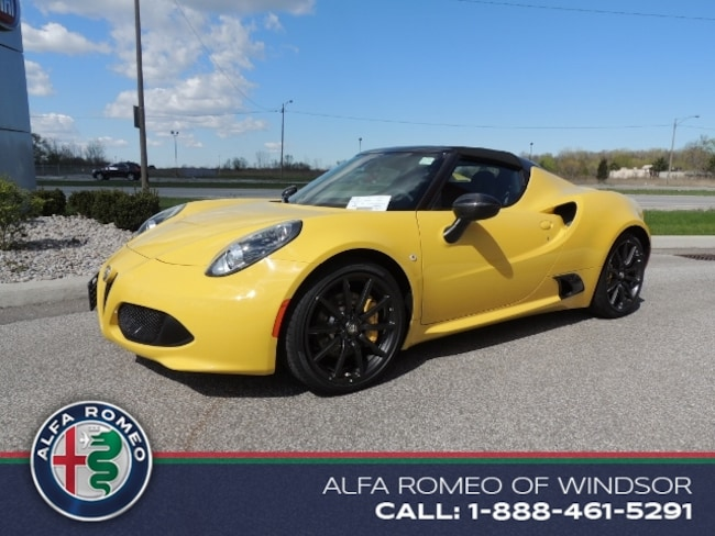 2016 Alfa Romeo 4C Spider Coupe Convertible