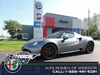 2016 Alfa Romeo 4C Coupe Convertible