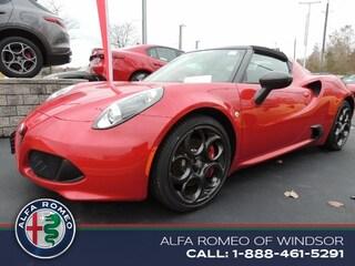 2017 Alfa Romeo 4C Spider Sport Coupe Convertible