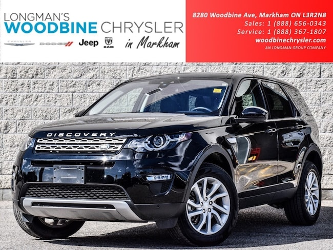 2019 Land Rover Discovery Sport HSE Pano Cam Nav Leather Blind SPT Loaded SUV