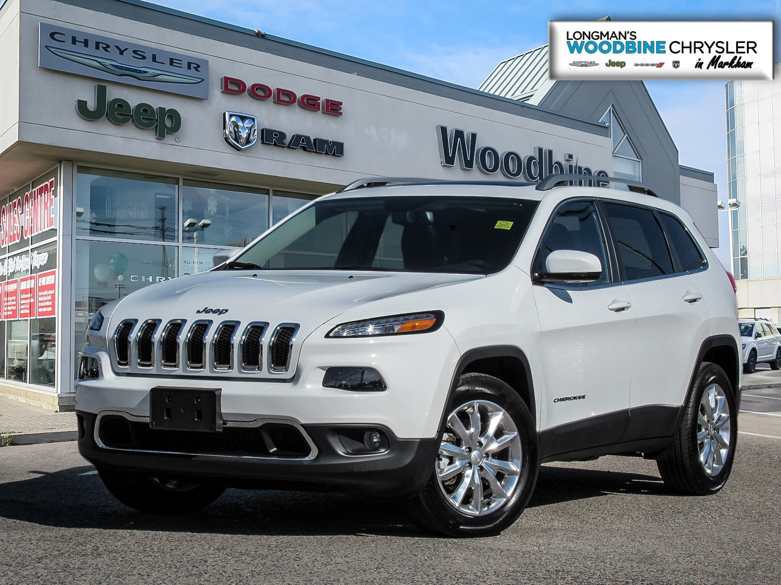 2017 Jeep Cherokee Limited/Navigation/Pano Sunroof SUV