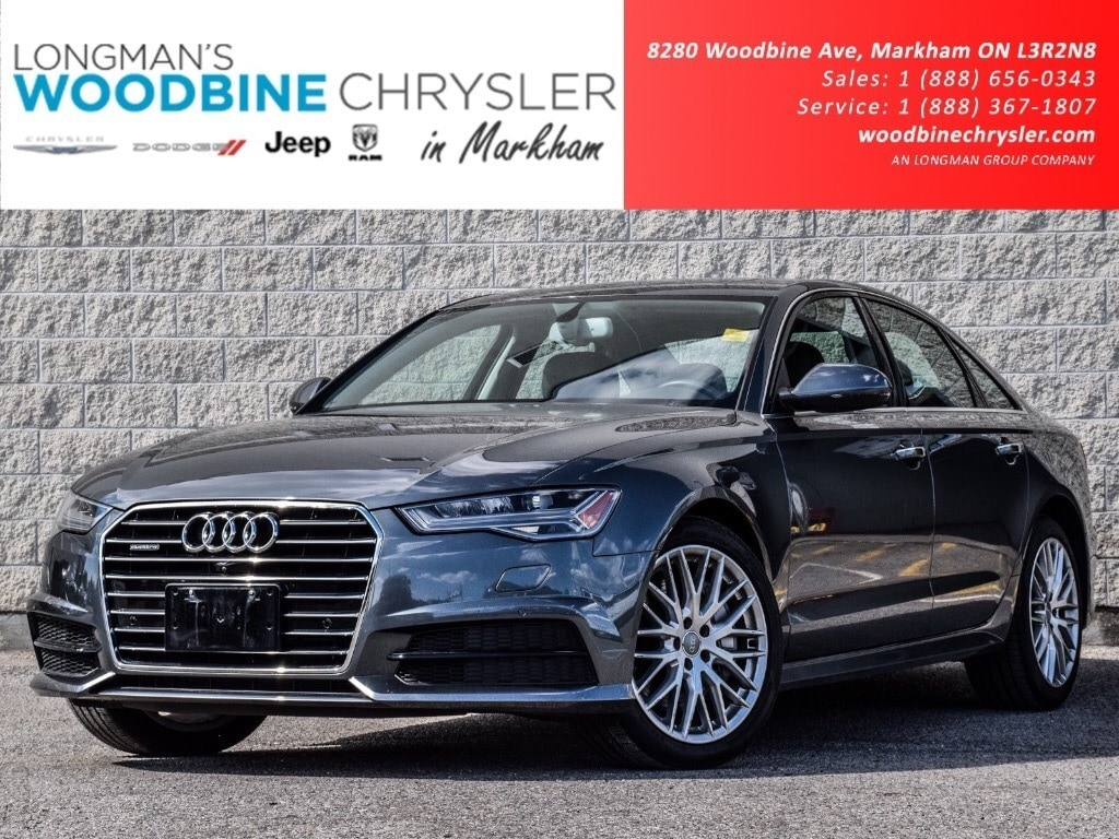 2018 Audi A6 3.0T Super Chd Nav Cam Sun Hethd Lthr Seats Loaded Sedan
