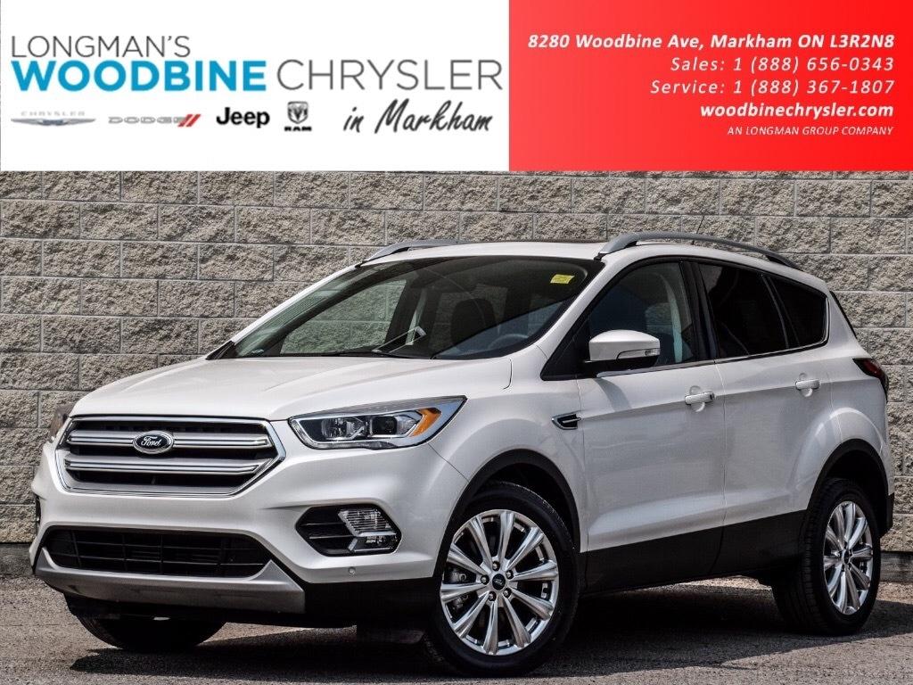 2018 Ford Escape Titanium Nav Cam Lthr htd Psun SUV