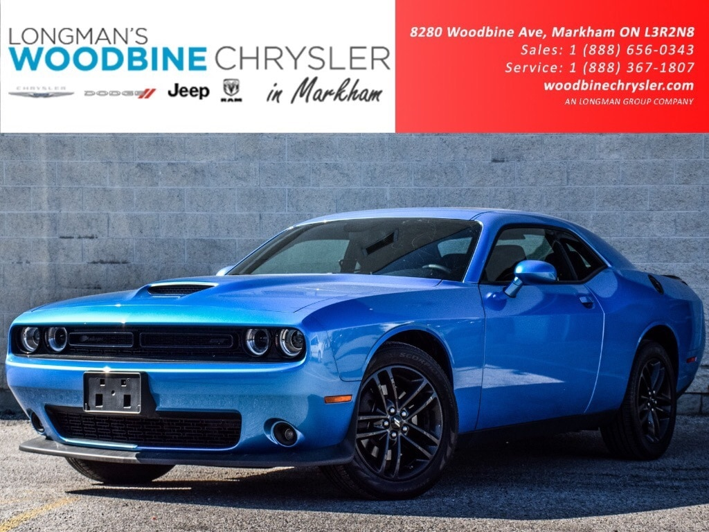 2019 Dodge Challenger GT AWD NAV Sunroof RR View CAM BLK TOP Blid SPT AU Coupe