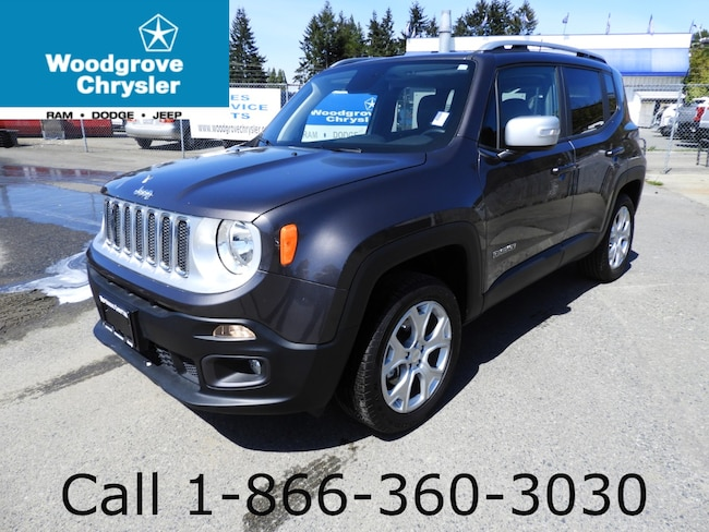 2018 Jeep Renegade Limited Leather Navigation Sunroof SUV