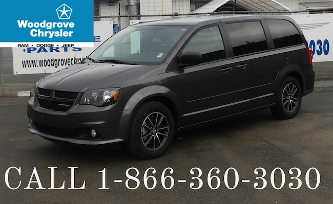 2017 Dodge Grand Caravan SXT Plus Rear A/C No Accidents Van
