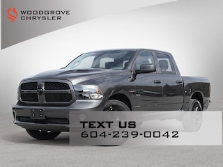 2021 Ram 1500 Classic Night Edition 4x4 Crew Cab for sale in Nanaimo, BC
