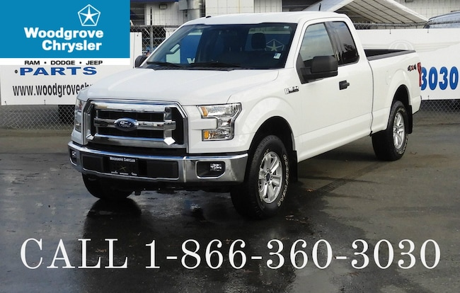 2015 Ford F-150 XLT SuperCab 4x4 Bluetooth, No Accidents Camion cabine Allongée