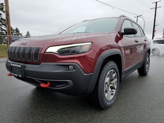 2021 Jeep Cherokee Trailhawk Elite at 7.5% off MSRP! 4x4 Sport Utility for sale in Nanaimo, BC
