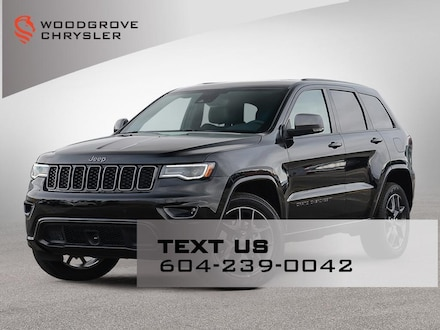 2021 Jeep Grand Cherokee 80th Anniversary Edition 4x4 Sport Utility for sale in Nanaimo Northwest, BC