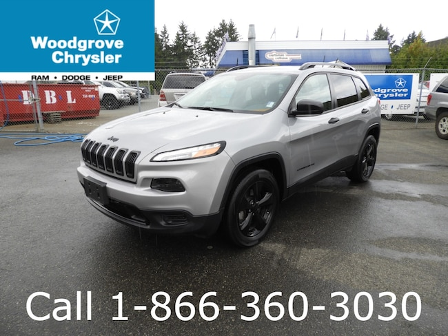 2016 Jeep Cherokee Altitude 4x4 V6 Bluetooth One Owner SUV
