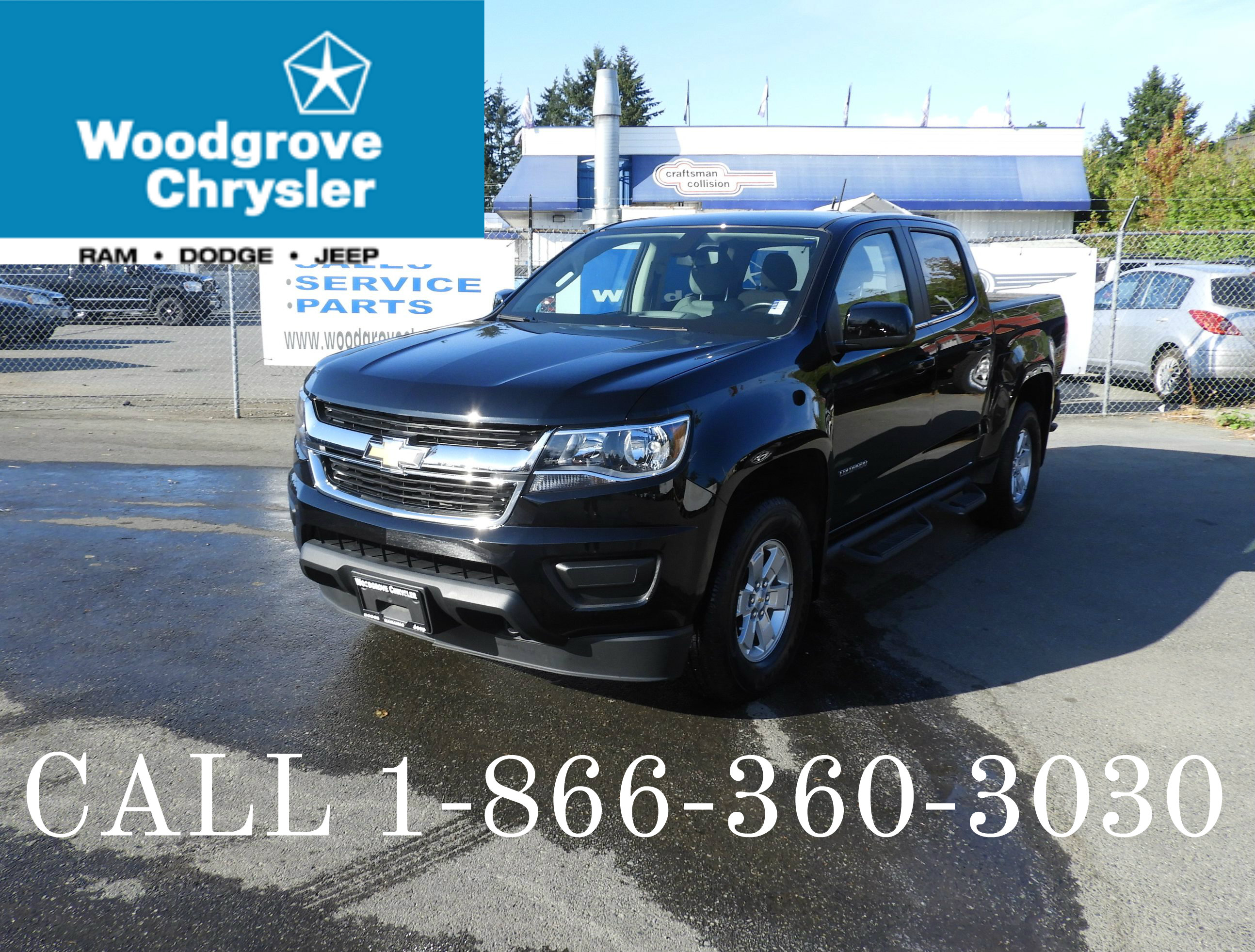2017 Chevrolet Colorado WT Crew Cab 4x4 No Accidents Truck Crew Cab