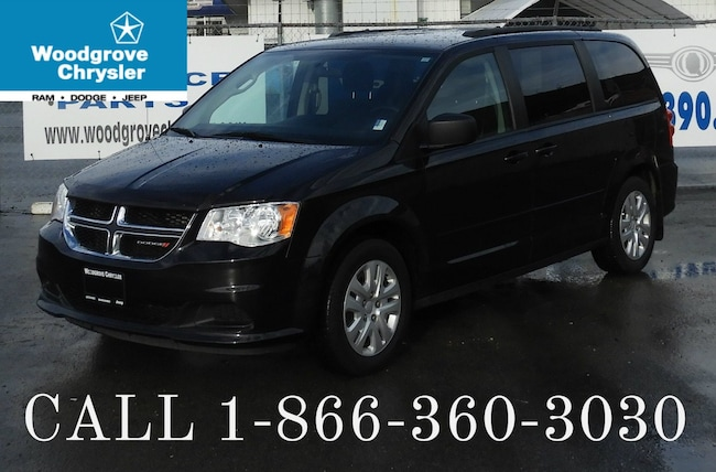 2016 Dodge Grand Caravan SXT Stow 'n Go Rear Heat & A/C Van