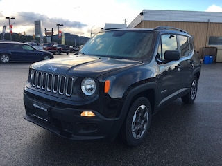 2018 Jeep Renegade Sport 9 speed Auto, LCD Touchscreen, Bluetooth SUV