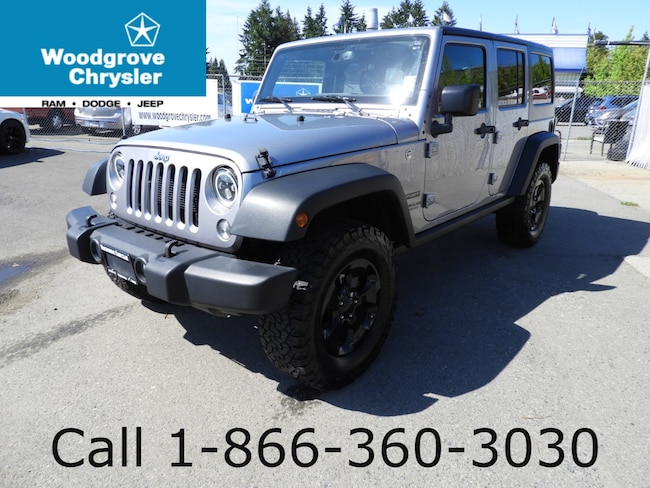 2016 Jeep Wrangler Unlimited Sport 4x4 Automatic Air Conditioning No Accidents SUV