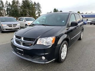 2016 Dodge Grand Caravan Crew Plus Leather, Pwr doors and liftgate Minivan for sale in Nanaimo, BC