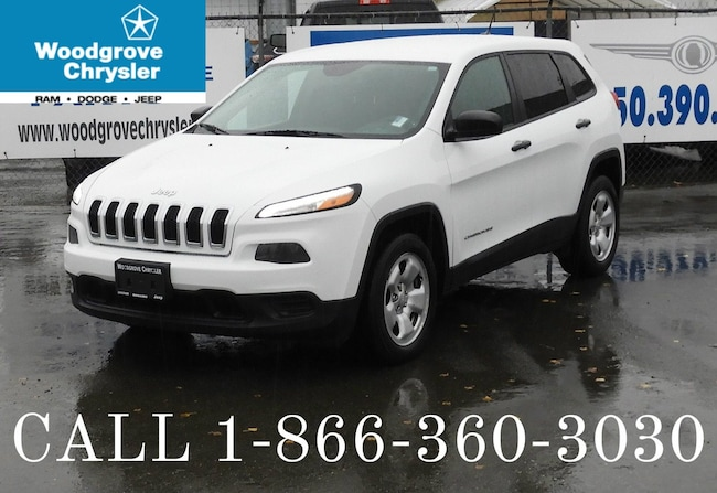 2016 Jeep Cherokee Sport 2wd Bluetooth, A/C, No Accidents SUV