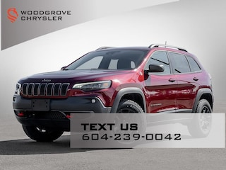 2021 Jeep Cherokee Trailhawk Elite  4x4 Sport Utility for sale in Nanaimo, BC