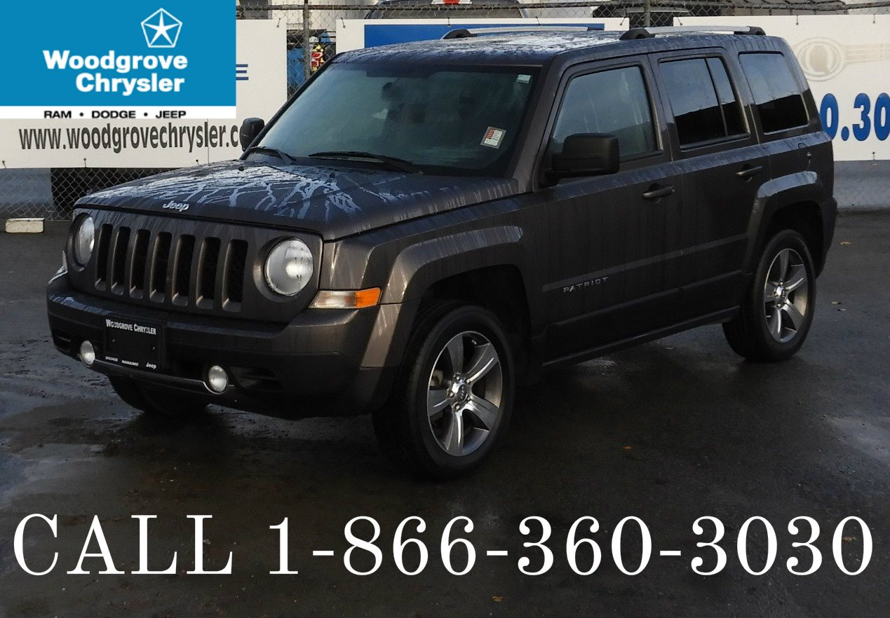 2016 Jeep Patriot High Altitude 4x4 Leather Sunroof. Bluetooth SUV