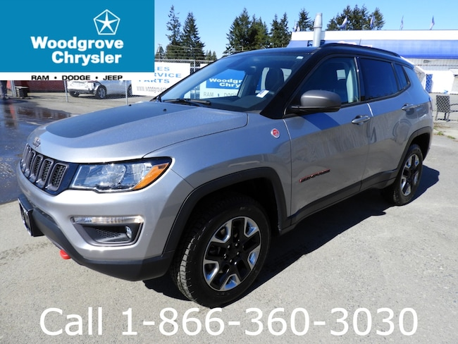 2018 Jeep Compass Trailhawk 4x4 Leather Navigation Sunroof SUV