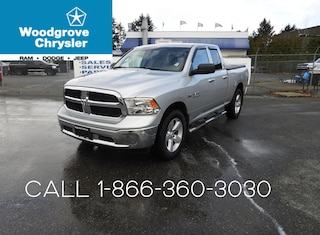 2013 Ram 1500 SLT Quad Cab 4x4 Low Kilometers, Hemi, No Accident Truck Quad Cab