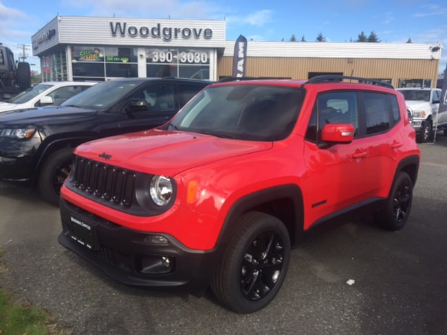 2018 Jeep Renegade Altitude Heated Seats/Steering Wheel, Remote Start 4x4 SUV