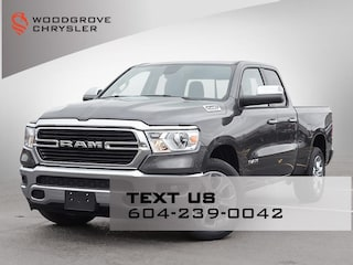 2021 Ram 1500 Big Horn Crew Cab 4x4 Quad Cab for sale in Nanaimo, BC