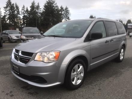 2016 Dodge Grand Caravan SE Plus No accidents, Low kms Van for sale in Nanaimo, BC