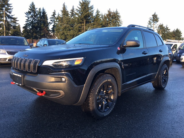 2019 Jeep Cherokee Trailhawk Elite Pano Roof, Heated/Cooled Seats, Pw SUV