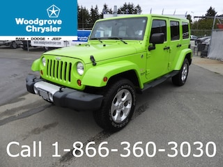 2013 Jeep Wrangler Unlimited Sahara 4x4 Leather SUV