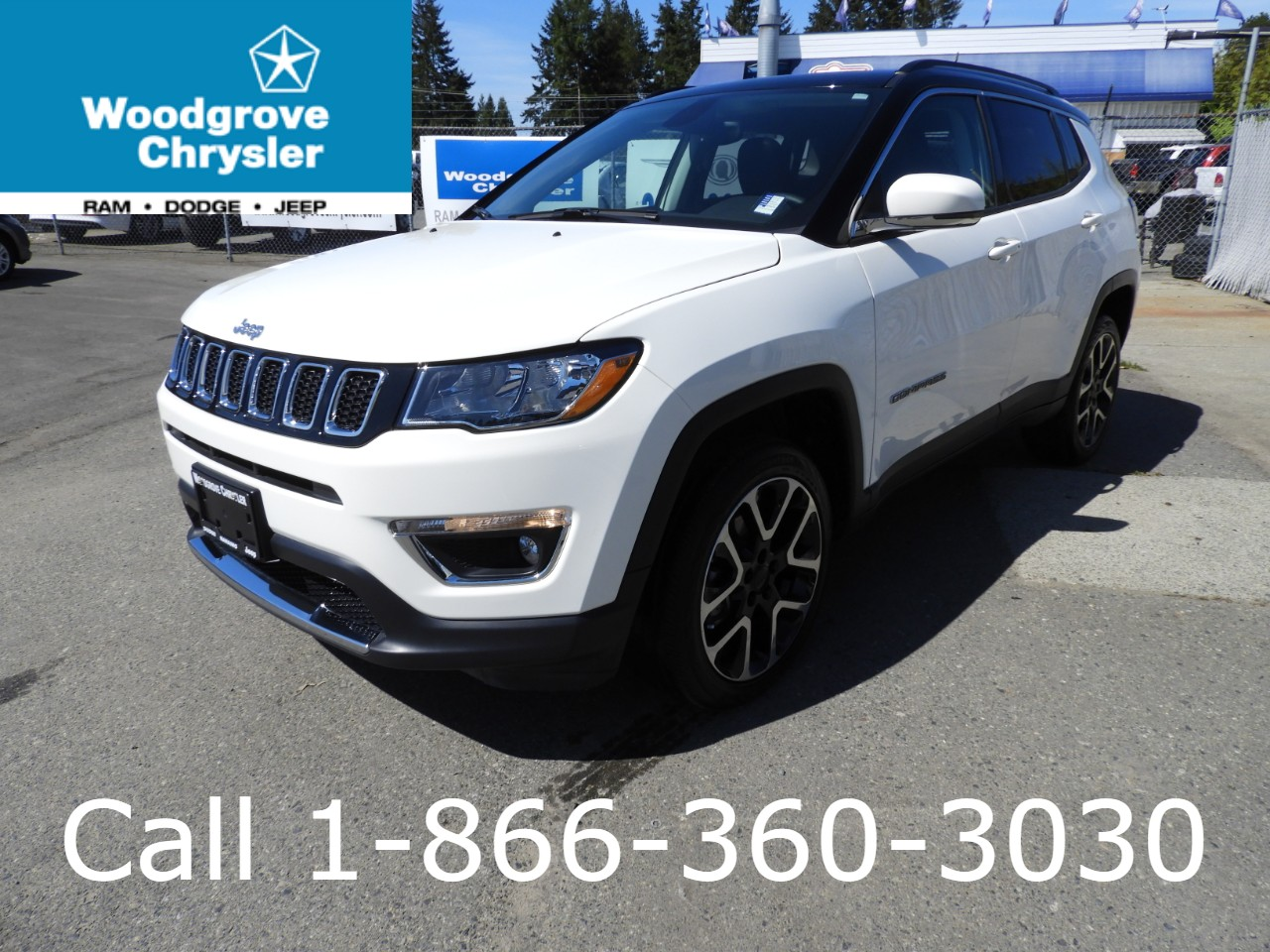 2018 Jeep Compass Limited 4x4 Leather Navigation Sunroof SUV