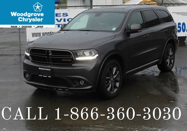 2018 Dodge Durango GT 4x4 Leather NAV DVD Sunroof SUV