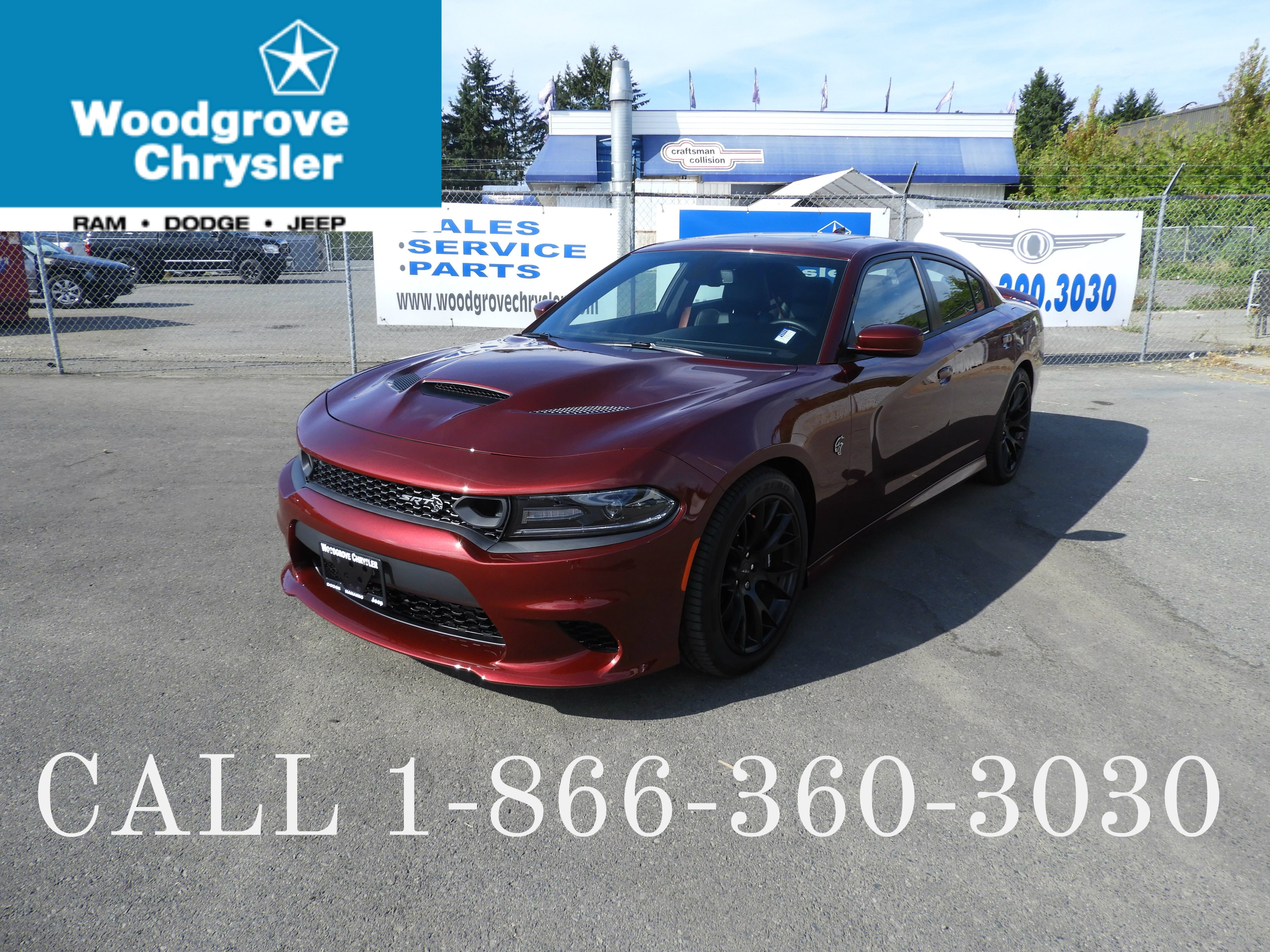 2019 Dodge Charger SRT Hellcat One Owner, No Accidents Sedan