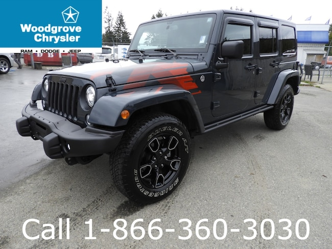 2017 Jeep Wrangler Unlimited Sahara Winter Edition Leather Automatic SUV