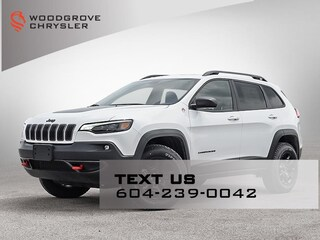 2020 Jeep Cherokee Trailhawk Elite  4x4 Sport Utility for sale in Nanaimo, BC